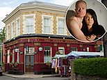 Two EastEnders characters are set for a steamy...